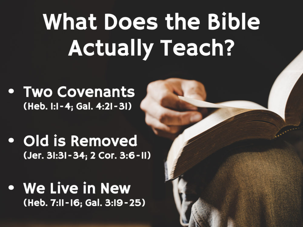 Why Two Covenants? Image