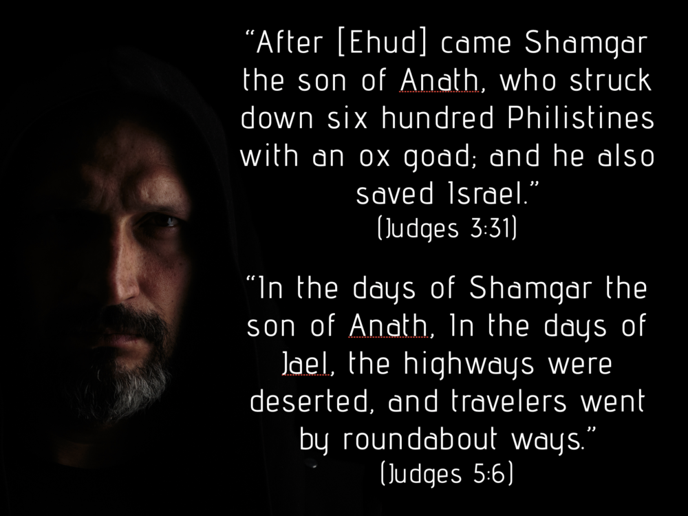Can You Write a Lesson on Shamgar? Image