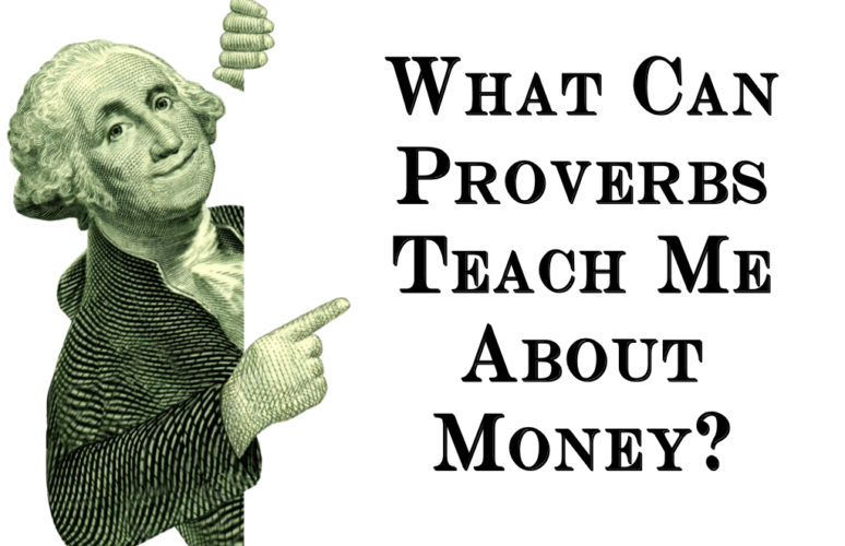 Proverbs money